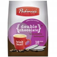 Minges Kaffeepads Double Chocolate 6 x 126g, 108 Pads