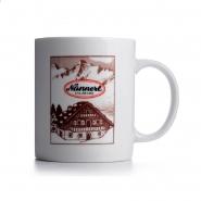 Alpenmax Jaga-tee Original Becher 0,3 l Keramik Nannerl  - Tasse