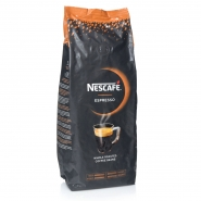 Nescafé Espresso Coffee Beans Whole Roasted 6 x 1Kg ganze Bohne
