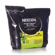 Nestle Nescafe Partners`Blend 12 x 250g Instant-Kaffee Fairtrade