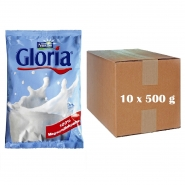 Nestlé Gloria - Karton 10 x 500g Magermilchpulver