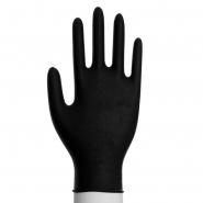 100 Nitril Einmalhandschuhe Puderfrei Größen XS-XL Schwarz