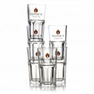 Old Pascas Barbados Rum 6 Premium Gläser Longdrinkglas 31 cl