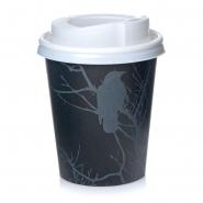 Coffee to go Pappbecher 0,2l Amore 200 Stk mit weißen Deckeln, 200ml