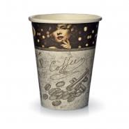 Coffee to go Becher 0,2l Pappbecher Kaffee Schwarz 50 Stk