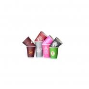 Einwandige Pappbecher Espresso bedrucken 10cl / 4oz Individuelles Design 10000 Stk.