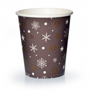 Coffee to go Becher 24cl Pappbecher Kristalle 50 Stk