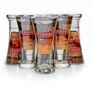 Pernod Glas - 6 Gläser 220ml Longdrink Cocktail