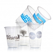 16.000 Clear Cups PET 0,3l / 12oz glasklar bedrucken lassen