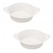 Suppenschalen 500ml Plastik weiß 100 Stk.