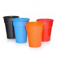 1000 Plastik-Trinkbecher 0,3l - 0,4l in verschiedenen Farben