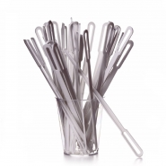 Rührstäbchen 132 mm Plastik Weiß 1000 Stueck