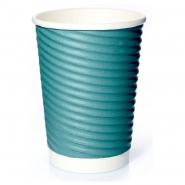 Ripple Cups Grün 14oz Doppelwand 50 Coffee to go Becher