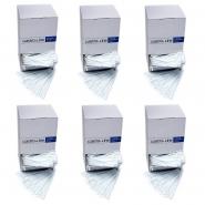 6 x 2000 Rührstäbchen Weiß Plastik 112mm im Display