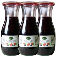 3 x Rumtopf Frucht in Jamaika Rum 13,5 Prozent 500 ml