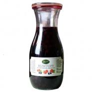 Rumtopf mit Früchten und Jamaika Rum 500 ml Flasche