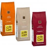 Cafè Mix Italien 3 x 1000g Kaffee ganze Bohnen