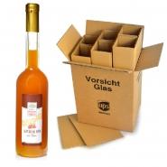 Sanddornlikör mit Rum 8 Flaschen x 500 ml 17% vol.
