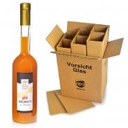 Sanddornlikör mit Whiskey 8 Flaschen x 500 ml 17% vol.