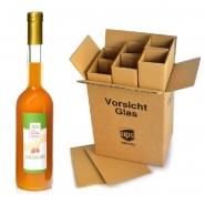Sanddornlikör Natur 8 Flaschen x 500 ml 17% vol.