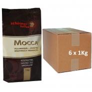 Schirmer Mocca 6 x 1kg Kaffee gemahlen