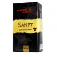 Schirmer Kaffee Sanft Entkoffeiniert 12 x 500g Kaffee gemahlen