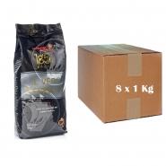 il Vero Espresso ganze Bohnen Kaffeebohnen 8er Pack, 8 x 1000g