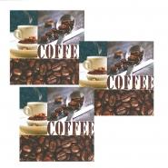 Servietten Coffee 3-lagig 25x25cm 1/4 Falz, 20Stk.
