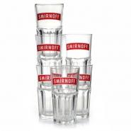 Smirnoff Vodka Gläser 6 Stück Premium Glässer