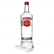 Smirnoff Vodka mit Pumpe 3 Liter XXL Flasche