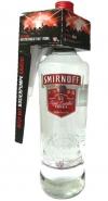 Smirnoff Red Label mit Pumpe 3 Liter Flasche