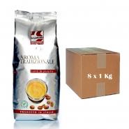 Splendid Aroma Tradizionale Espresso ganze Kaffee-Bohnen 8 x 1Kg