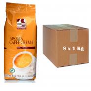 Splendid Espresso Aroma Cafe Crema 8 x 1 Kg ganze Bohnen