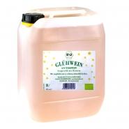 Weisser Bio Glühwein 10 Liter Kanister 9% vol.