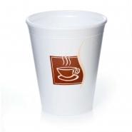 Styroporbecher Thermobecher 0,2l Coffee Break 40 Stk.