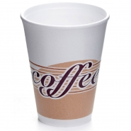 Styroporbecher 0,3 l Coffee Note 25 Thermobecher