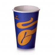 Tchibo Coffee to go 400ml Kaffeebecher 50 Pappbecher 0,4 l