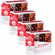 Heiss & Innig Früchtetee 6 x 20 MasterBag Glas 3,6g