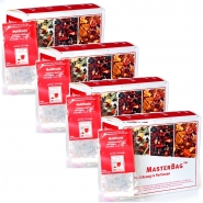 Früchtetee Multifrucht 20 MasterBag Glasportion 3,6g, 6er Pack