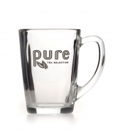 1 Teeglas Pure Tea 340ml mit Logo Pure Tea Selection