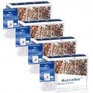 Schwarzer Chai Tee 25 MasterBag Glas-Portion 3,2g, 6er Pack