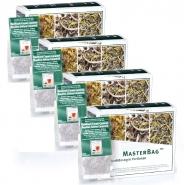 Rooibos Tee Sahne-Caramel  Rooitea 25 MasterBag Glas-Portion 2,0g, 6er Pack