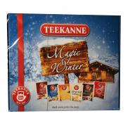 Wintertee-Magische-Tee-Box 6 Sorten Teekanne