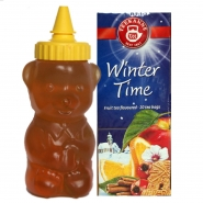 Teekanne Winter Time 20 x 2,5 g mit Honigbär 250 ml Met Bär