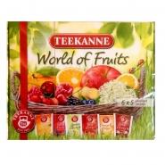 World of Fruits 6 Tee-Sorten Früchtetee in Teebox