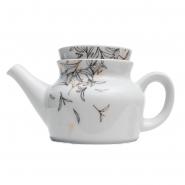 1 Dallmayr Teekanne 0,35 l Dekor Teeblätter