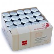 200 Teelichte Weiss 8h in Teelichter Box Eika Kerzen