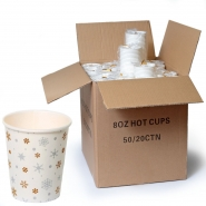 Coffee to go Becher 24cl Pappbecher Design Sterne 1000 Stk