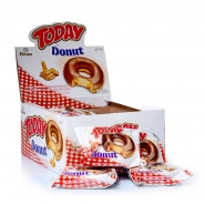TODAY Donut Karamellcreme mit Fettlasur 24 x 50g im Display