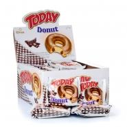 24 x TODAY Rührkuchen Donut Choco Kakaocremefüllung 50g